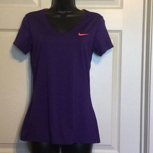 Nike Pro Top stretchy exercise top